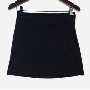 Logic Women's Black Short Mini Skirt